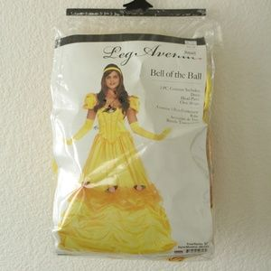 Beauty and the Beast Belle Costume Leg Avenue Sm